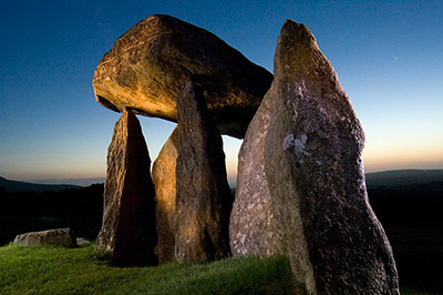 Pentre Ifan Night Shot